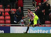 Photo: Andrew Unwin.<br /> Sunderland v Tottenham Hotspur. The Barclays Premiership. 12/02/2006.<br /> Sunderland's Daryl Murphy celebrates his late equaliser.