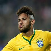 Brazil's Neymar JR during their a international friendly soccer match Turkey betwen Brazil at Sukru Saracoglu Arena in istanbul November 12, 2014. Photo by Aykut AKICI/TURKPIX