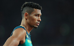 South Africa's Wayde Van Niekerk before the Men's 400m Final during day five of the 2017 IAAF World Championships at the London Stadium.