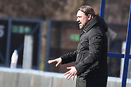Norwich City Head Coach Daniel Farke  during the EFL Sky Bet Championship match between Wycombe Wanderers and Norwich City at Adams Park, High Wycombe, England on 28 February 2021.