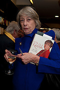 WENDY STEAVENSON, Relish: My Life on a Plate by Prue Leith. Hatchards. Piccadilly, London. 14 March 2012.