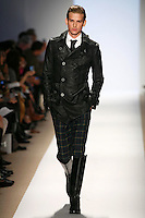 A model wearing the Monarchy Fall 2009 Collection