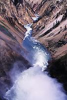 Upper Falls on the Yellowstone River, Yellostone National Park