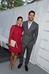 JAMIE & LOUISE REDKNAPP at the Glamour Women of the Year Awards in association with Pandora held in Berkeley Square Gardens, London on 4th June 2013.