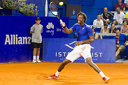 Geal Monfils (FRA) during exhibition match at 26. Konzum Croatia Open Umag 2015, on July 22, 2015, in Umag, Croatia. Photo by Urban Urbanc / Sportida