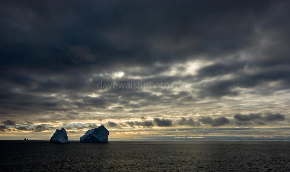 Icebergs, Southern Ocean
