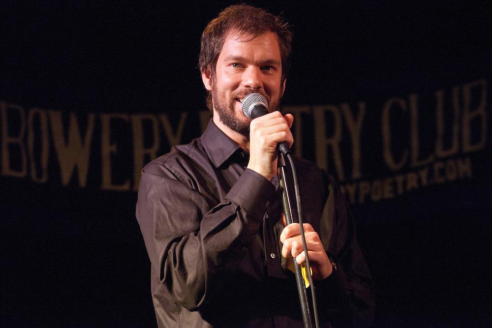 Schtick or Treat - November 1, 2011 - Bowery Poetry Club - Matt Ruby