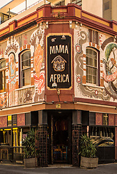 Mama Africa Cape Town enjoys the distinction as a Long Street restaurant institution.