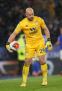 Dejected Pepe Reina of Aston Villa during the Premier League match at the King Power Stadium, Leicester. Picture date: 9th March 2020. Picture credit should read: Darren Staples/Sportimage
