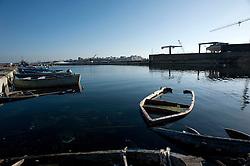 Taranto, 27 dicembre 2012.Visita nei pressi dei cantieri navali