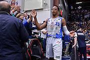 DESCRIZIONE : Beko Legabasket Serie A 2015- 2016 Playoff Quarti di Finale Gara3 Dinamo Banco di Sardegna Sassari - Grissin Bon Reggio Emilia<br /> GIOCATORE : Kenneth Kadji<br /> CATEGORIA : Fair Play Postgame Ritratto Delusione<br /> SQUADRA : Dinamo Banco di Sardegna Sassari<br /> EVENTO : Beko Legabasket Serie A 2015-2016 Playoff<br /> GARA : Quarti di Finale Gara3 Dinamo Banco di Sardegna Sassari - Grissin Bon Reggio Emilia<br /> DATA : 11/05/2016<br /> SPORT : Pallacanestro <br /> AUTORE : Agenzia Ciamillo-Castoria/L.Canu