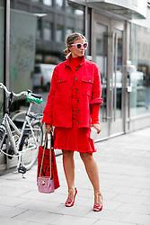 Street style, Janka Polliani arriving at Greta Gram Spring Summer 2017 show held at Stockholms Auktionsverk, Nybrogatan 32, in Stockholm, Sweden, on August 30th, 2016. Photo by Marie-Paola Bertrand-Hillion/ABACAPRESS.COM