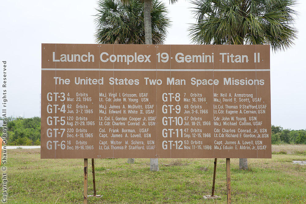 Launch Complex 19, site of the Gemini space program, and where the first Apollo astronauts flew their orbital rcket flights in preparations for the slights to teh moon.