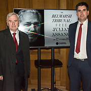 Speaker John McDonnell, Richard Burgon - A rally is held at Convocation Hall, Westminster in support of Julian Assange. Belmarsh Tribunal will expose the atrocities committed by the US government over the past decade, from war crimes in Iraq to torture at Guantánamo Bay. The event takes its inspiration from the Russell-Sartre Tribunal of 1966, when representatives of 18 countries gathered to hold the United States accountable for its war crimes in Vietnam, in the absence of an international authority that dared to do so. Tariq Ali, who took part in the 1966 Tribunal.