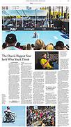 New York Times full page Tearsheet Australian Dylan Alcott story by Australian Melbourne based photojournalist Asanka Brendon Ratnayake