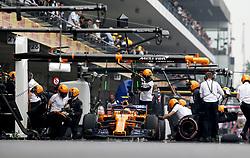 October 27, 2018 - Mexico-City, Mexico - Motorsports: FIA Formula One World Championship 2018, Grand Prix of Mexico, .#2 Stoffel Vandoorne (BEL, McLaren F1 Team) (Credit Image: © Hoch Zwei via ZUMA Wire)