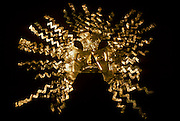 ECUADOR, PREHISPANIC La Tolita Culture, Gold Diadem Crown