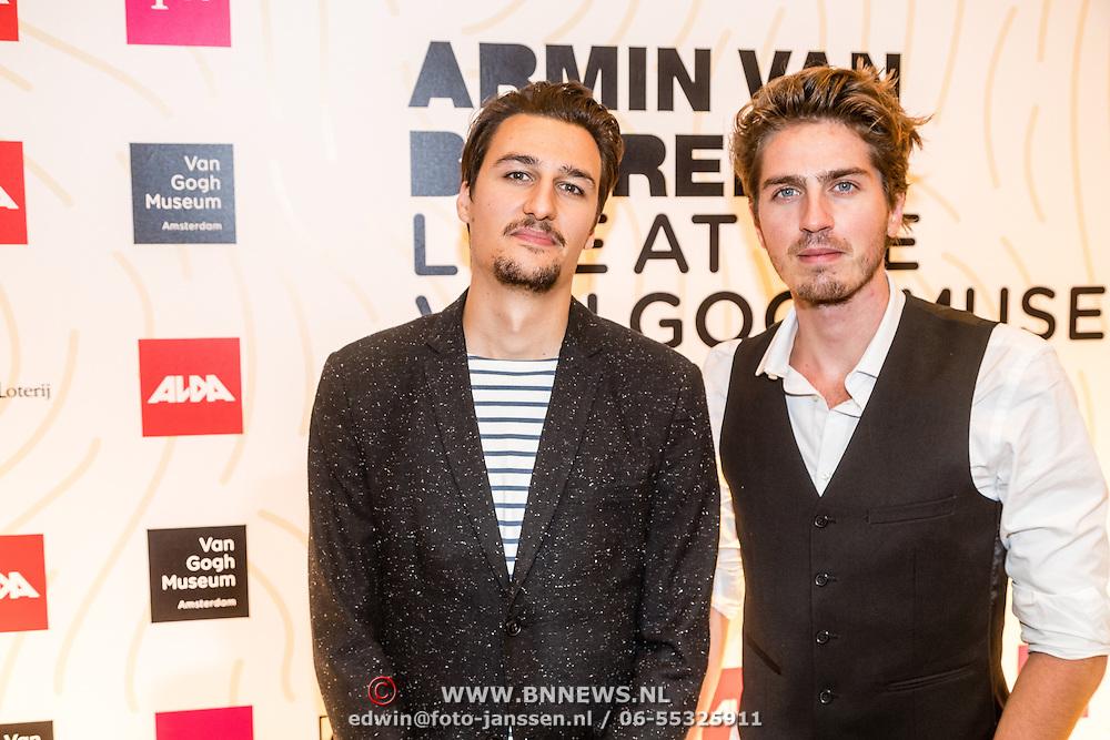 NLD/Amsterdam/20161021 - Armin van Buuren Live at the Van Gogh Museum, ........... en Dorian Bindels