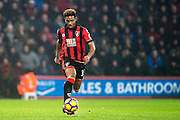 Bournemouth midfielder Jordon Ibe (33) during the Premier League match between Bournemouth and Crystal Palace at the Vitality Stadium, Bournemouth, England on 31 January 2017. Photo by Sebastian Frej.
