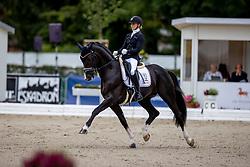 ROCKXSejbjerg Jensen Mette, DEN, Suarez<br /> World Championship Young Horses Verden 2021<br /> © Hippo Foto - Dirk Caremans<br />  28/08/2021