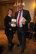 NO FEE PICTURES<br /> 20/1/16  Catherine Fox and Senator Gerard Craughwell, Kilkenny at the launch of Noel Whelan's book, The Tallyman's Campaign Handbook at the Alexander Hotel in Dublin. Picture: Arthur Carron
