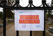 Zamknięte cmentarze w Święto Zmarłych - 01.11.2020