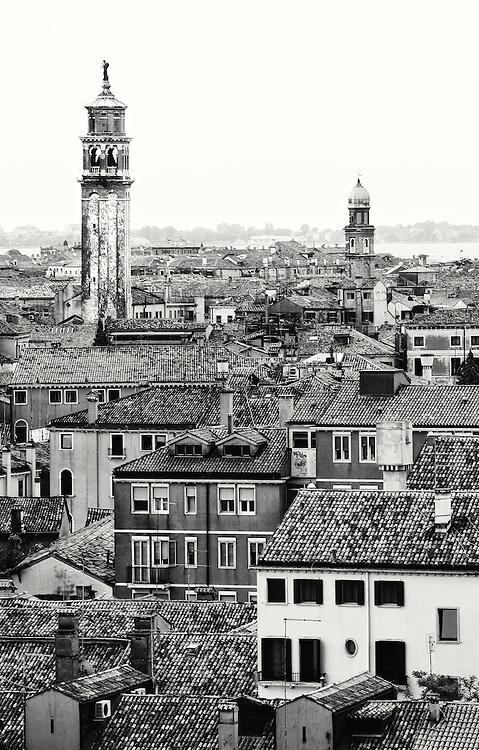 Italy - Venezia - Cityscape BW