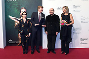 Premiere van Gurre-Lieder in de Nationale Opera & Ballet / Premiere of Gurre-Lieder in the National Opera & Ballet.<br /> <br /> Op de foto / On the photo:  Koning Willem-Alexander en koningin Maxima / King Willem Alexander and Queen Maxima