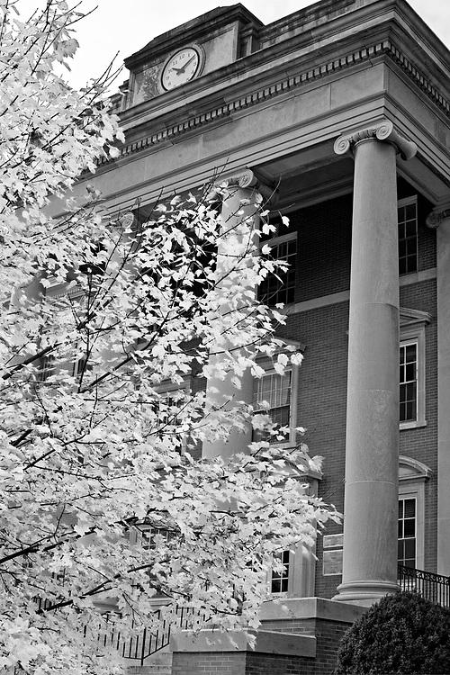 George Washington Hall on the University of Mary Washington campus in Fredericksburg, VA.