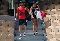 May 23, 2019 - Paris, FRANCE - Madison Keys of the United States during practice at the 2019 Roland Garros Grand Slam tennis tournament (Credit Image: © AFP7 via ZUMA Wire)
