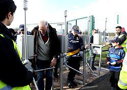 Worcester Warriors fans arrive for the Premiership fixture against Bristol Rugby - Mandatory by-line: Robbie Stephenson/JMP - 05/03/2017 - RUGBY - Sixways Stadium - Worcester, England - Worcester Warriors v Bristol Rugby - Aviva Premiership