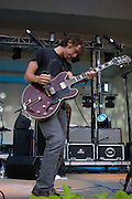 Sunday, August 3, 2008; The National performs at Lollapalooza 2008..Photo by Bryan Rinnert