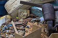 Contents removed from flooded homes in Denahm Springs Louisiana following a 1000 year flood that impacted numerous parishes in Southern Louisiana.