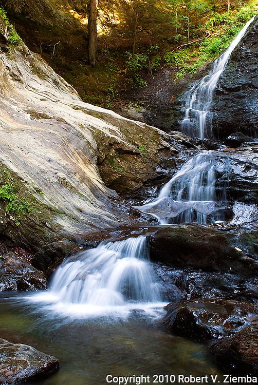 """""""Moss Glen Falls 2""""-A waterfall near Stowe, Vermont."""
