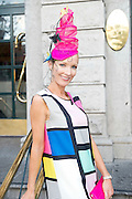 Laoise OMurchu, Athy at the Hotel Meyrick Most Stylish Lady event on ladies day of The Galway Races. Photo:Andrew Downes