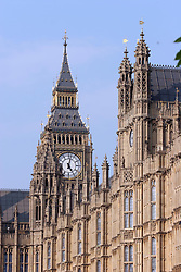 21 April 2011. London, England..Late afternoon light on the Houses of Parliament.Photo; Charlie Varley.