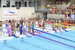 August 10, 2018 - Paris, FRANCE - Paris Aquatique fait son show (Credit Image: © Panoramic via ZUMA Press)