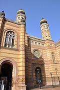 Eastern Europe, Hungary, Budapest, Dohany Street Synagogue