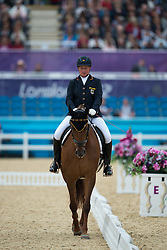 Näpel Britta (GER) - Aquilina 3<br /> Individual Championship Test  - Grade II <br /> London 2012 Paralympic Games<br /> © Hippo Foto - Jon Stroud