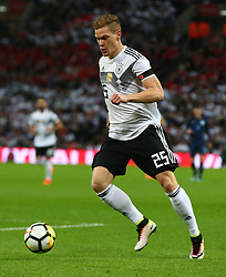 November 10, 2017 - London, England, United Kingdom - Marcel Halstenberg of Germany  making his Debut..during International Friendly match between England  and Germany  at Wembley stadium, London  on 10 Nov  , 2017 ..during International Friendly match between England  and Germany  at Wembley stadium, London  on 10 Nov  , 2017  (Credit Image: © Kieran Galvin/NurPhoto via ZUMA Press)