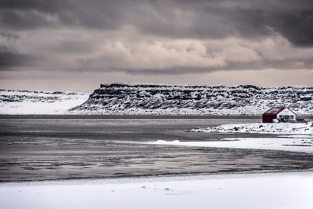 Harrison island is part of Nunavut. During winter, we can walk to get there in about 2 hours.