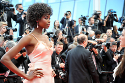 Maria Borges attending the Solo: A Star Wars Story premiere at the 71st Cannes Film Festival.