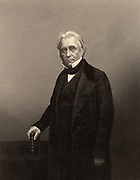 Thomas Babbington Macaulay , 1st Baron Macaulay (1800-1859) British historian, poet and Whig politician, born at Leicester, England. Author of 'History of England from the Accession of  James II' (1848) and 'Lays of Ancient Rome' (1842). Engraving  from 'The Illustrated News of the World' (London, c1860)