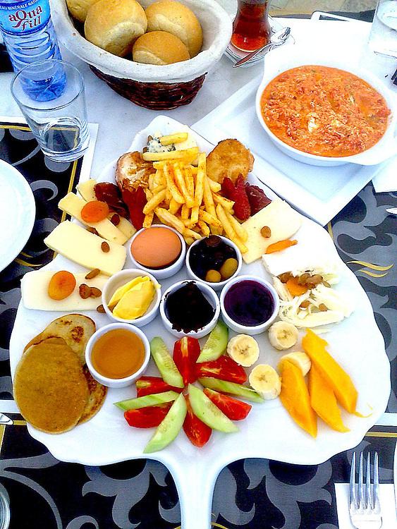 Pasha breakfast in Accra Ghana West Africa