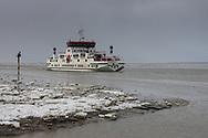 Veerboot Sier van Wagenborg Passagiersdiensten bij Holwerd.