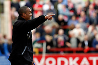 Photo: Paul Greenwood.<br />Accrington Stanley v Macclesfield Town. Coca Cola League 2. 28/04/2007.<br />Macclesfield manager Paul Ince reacts to his side losing another goal