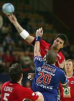 Kristian Kjelling (NOR) gegen Ratko Nikolic (SCG) © Andy Mueller/EQ Images