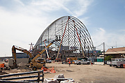 Anaheim Regional Transportation Intermodal Center Under Construction