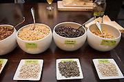 BEAN (TEPARY), Phaseolus acutifolius Showcase: Tep22<br />Breeder: John Hart, EarthWork Seeds<br />Chef: David Gunawan, Farmer's Apprentice<br />Dish: Tepary beans cooked in milk, hakurei turnips, elderflower