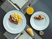 Italy, Como Bellagio, breakfast